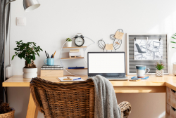 How to successfully work from home in a small living space